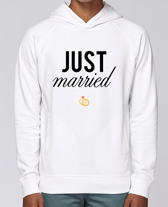Sweat Capuche Homme Stanley Base Just married par tunetoo