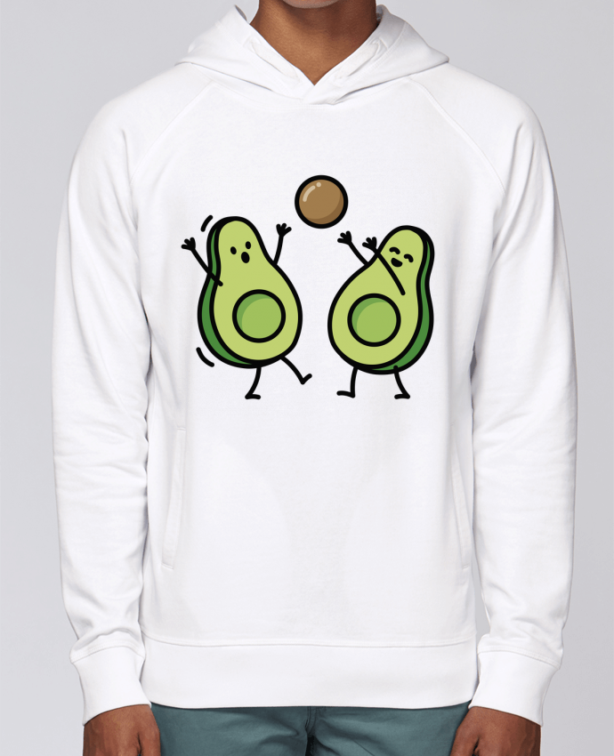 Sweat Capuche Homme Stanley Base Avocado handball par LaundryFactory