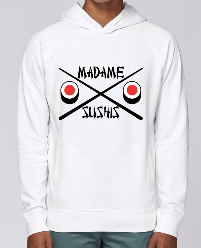 Sweat Capuche Homme Stanley Base Madame Sushis par tunetoo