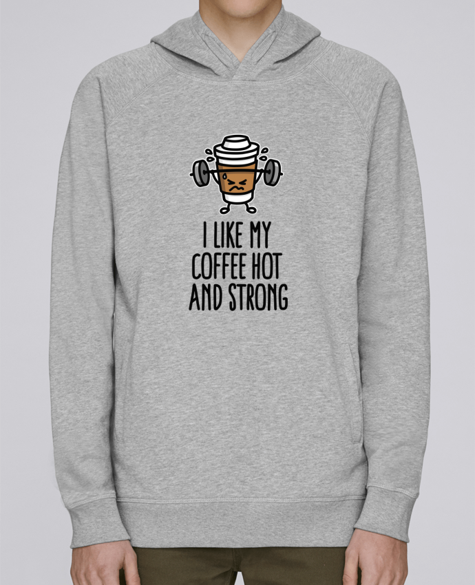 Sweat Capuche Homme Stanley Base I like my coffee hot and strong par LaundryFactory