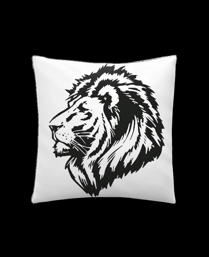 Coussin Synthétique Doux 41 x 41 cm Proud Tribal Lion par Eleana