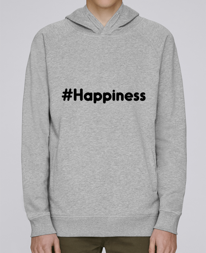 Sweat Capuche Homme Stanley Base #Happiness par tunetoo
