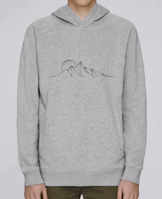 Sweat Capuche Homme Stanley Base mountain draw par /wait-design