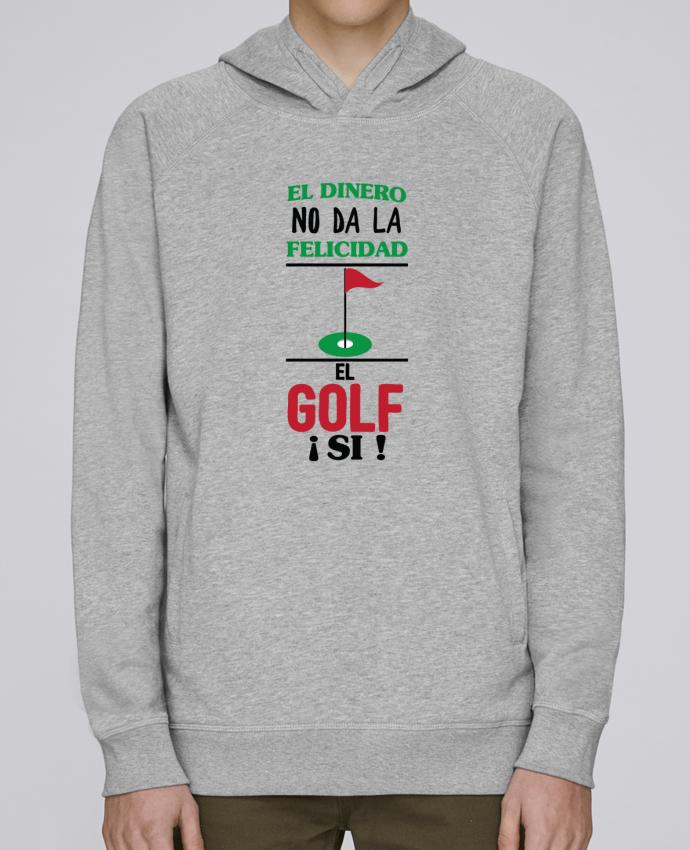 Sweat Capuche Homme Stanley Base El dinero no da la felicidad, el golf si ! par tunetoo