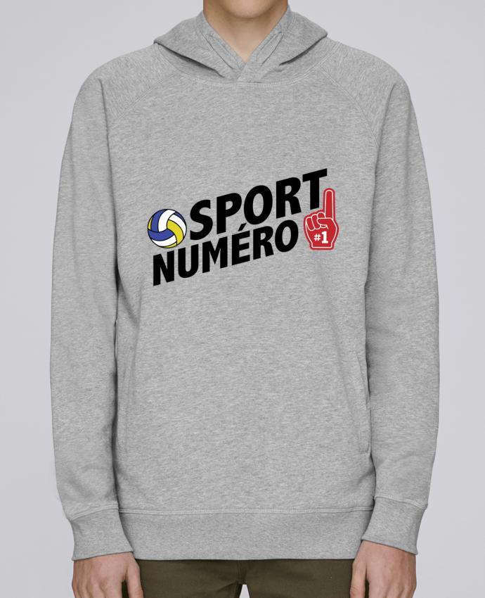 Sweat Capuche Homme Stanley Base Sport numéro 1 Volley par tunetoo