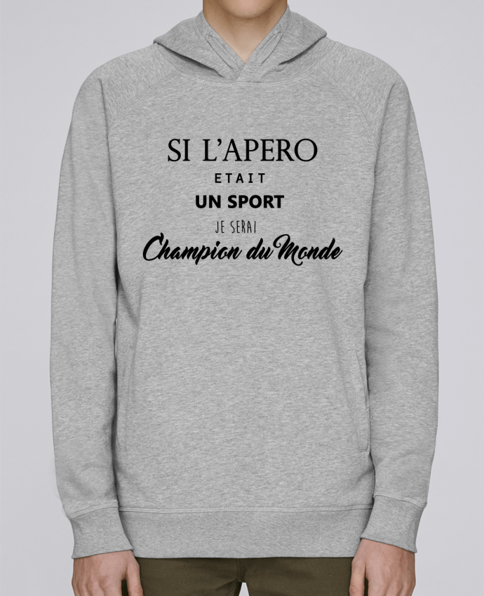 Sweat Capuche Homme Stanley Base apero foot par DesignMe