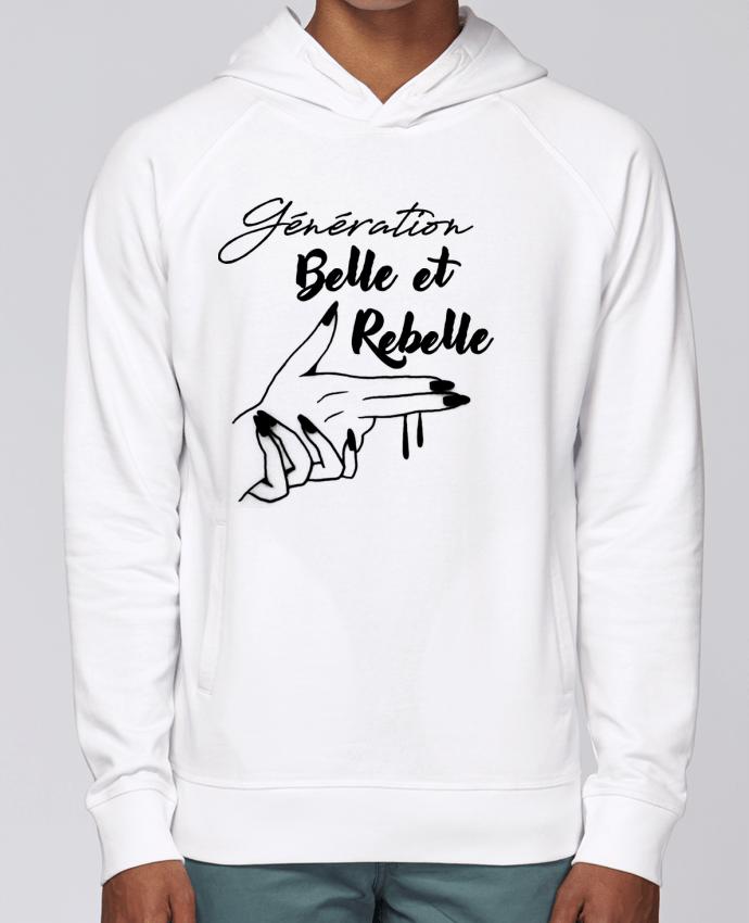 Sweat Capuche Homme Stanley Base génération belle et rebelle par DesignMe