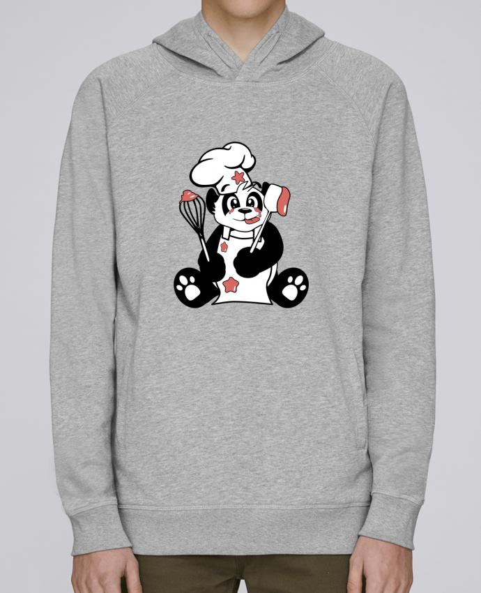 Sweat Capuche Homme Stanley Base Panda Pot'Chef par CoeurDeChoux