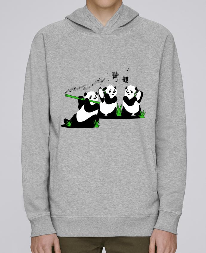 Sweat Capuche Homme Stanley Base panda's band par CoeurDeChoux