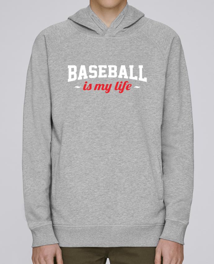 Sweat Capuche Homme Stanley Base Baseball is my life par Original t-shirt