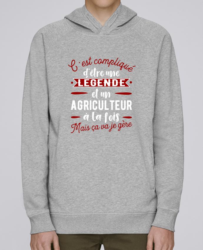 Sweat Capuche Homme Stanley Base Légende et agriculteur par Original t-shirt