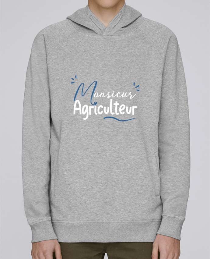 Sweat Capuche Homme Stanley Base Monsieur Agriculteur par Original t-shirt