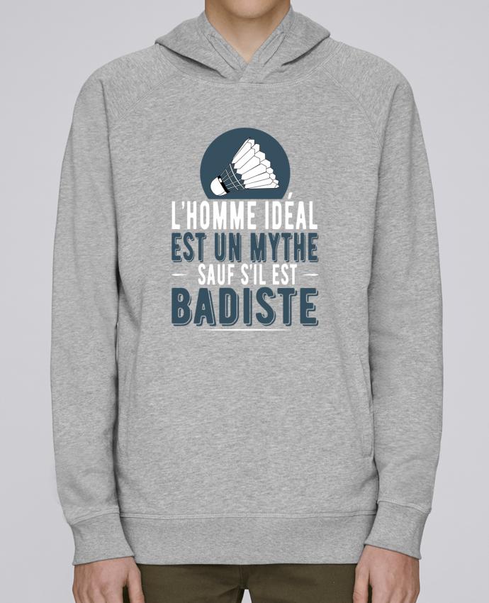 Sweat Capuche Homme Stanley Base Homme Badiste Badminton par Original t-shirt