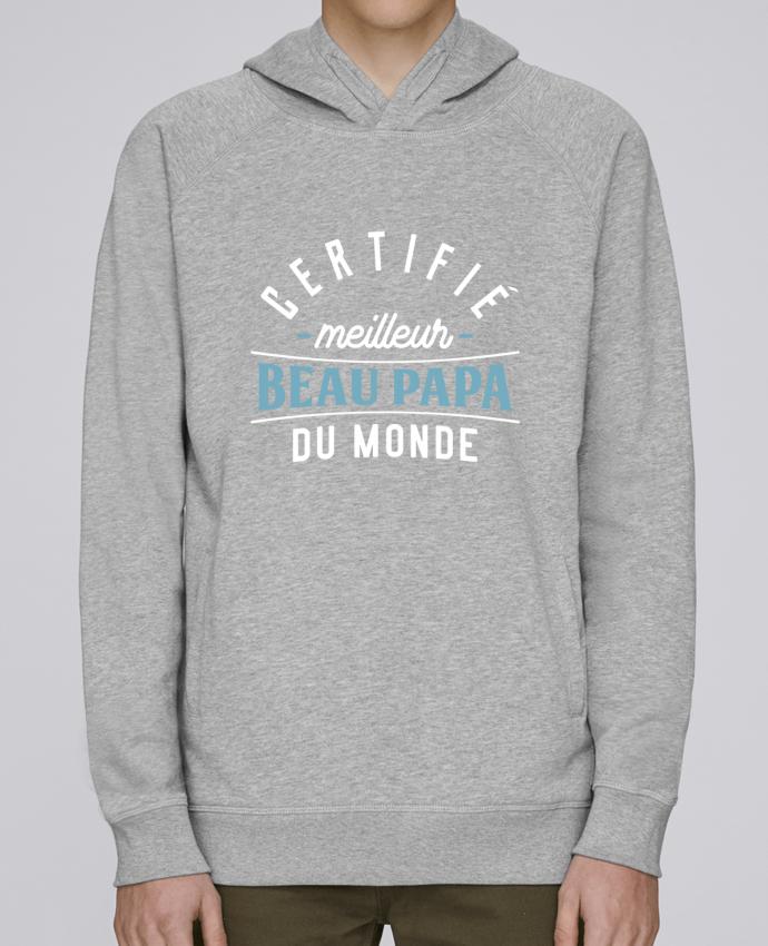 Sweat Capuche Homme Stanley Base Meilleur beau papa par Original t-shirt