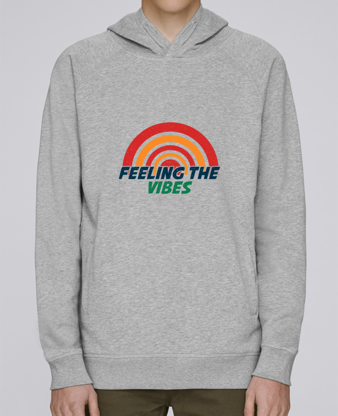 Sweat Capuche Homme Stanley Base Feeling the vibes par tunetoo