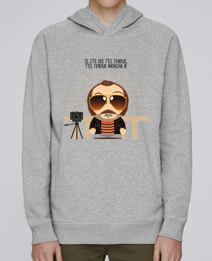 Sweat Capuche Homme Stanley Base T'es tendue Natacha par PTIT MYTHO