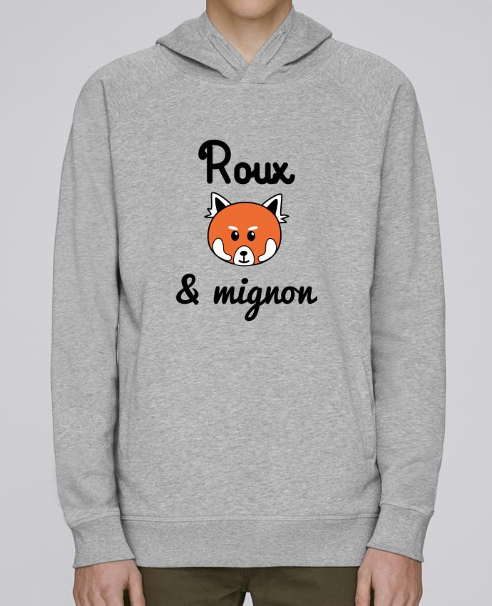 Sweat Capuche Homme Stanley Base Roux & Mignon, Panda roux par Benichan