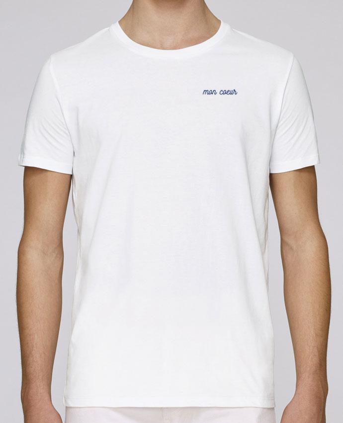 T-Shirt Col Rond Stanley Leads brodé Mon cœur par tunetoo