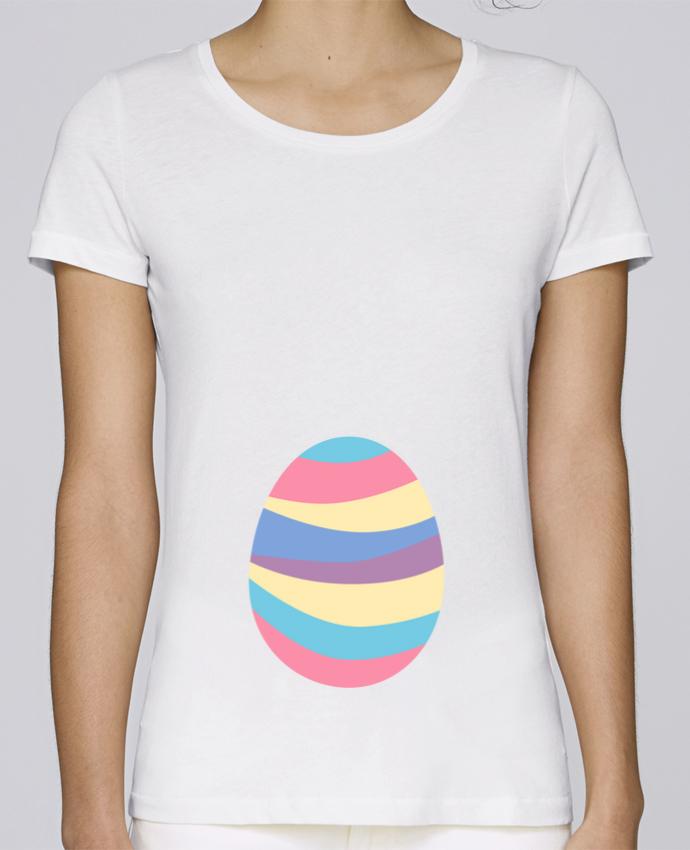 T-shirt Femme Stella Loves Easter egg par tunetoo