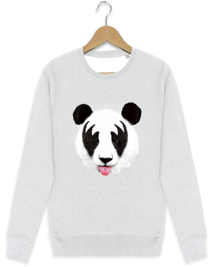 Sweat-shirt Stanley stella modèle seeks Kiss of a panda par robertfarkas