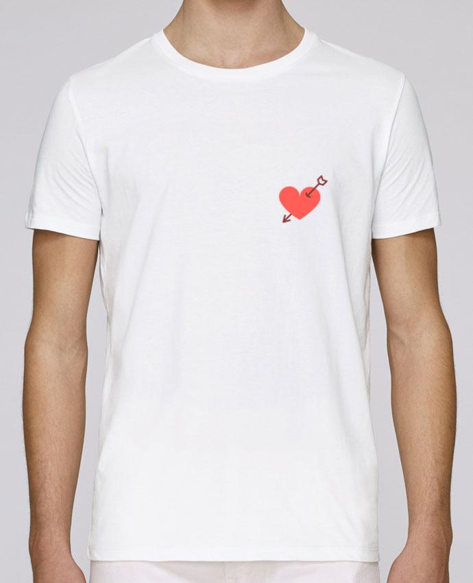 T-Shirt Col Rond Stanley Leads coeur percé par Nana