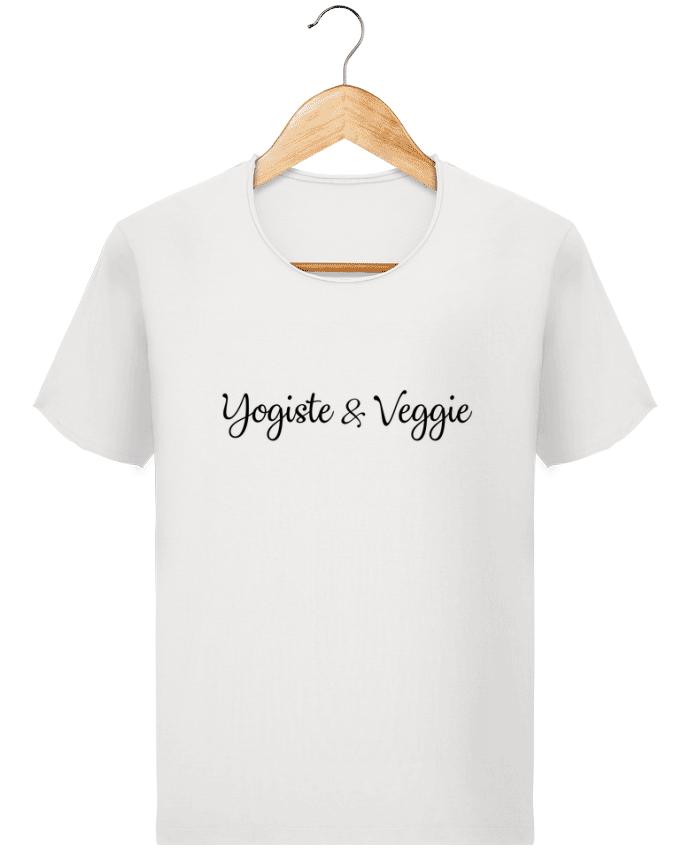 T-shirt Homme Stanley Imagines Vintage Yogiste et veggie par Nana