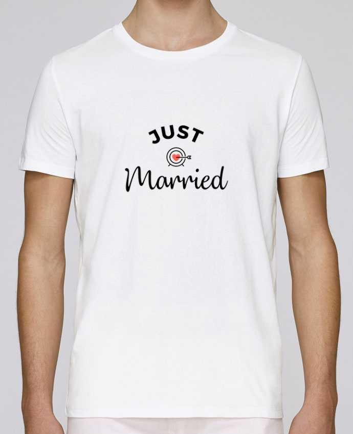 T-Shirt Col Rond Stanley Leads Just Married par Nana