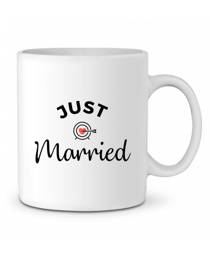 Mug en Céramique Just Married par Nana