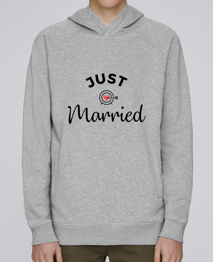 Sweat Capuche Homme Stanley Base Just Married par Nana