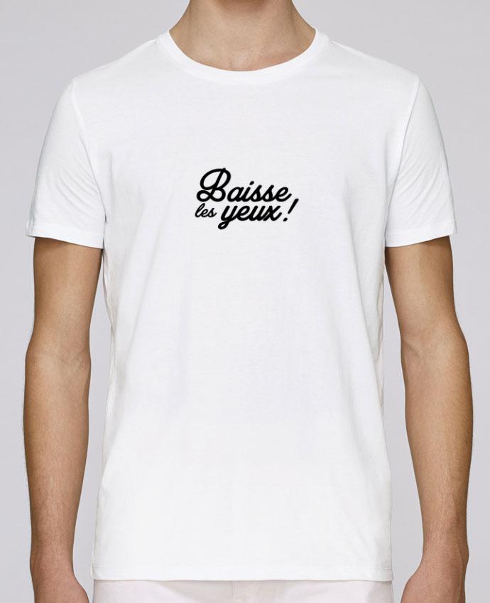 T-Shirt Col Rond Stanley Leads Baisse les yeux ! par Nana