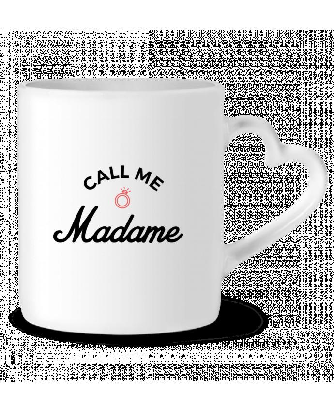 Mug Coeur Call me Madame par Nana