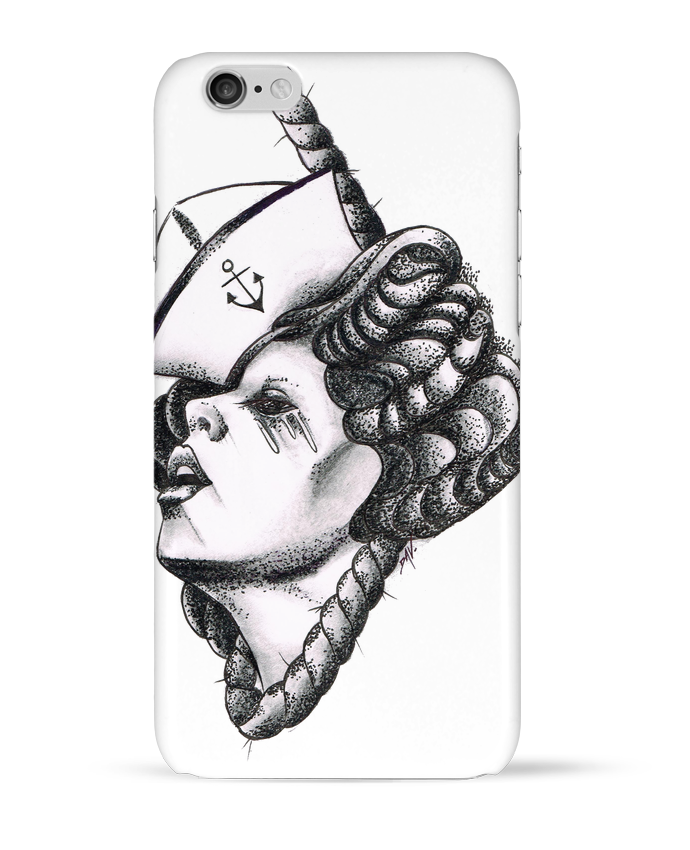 Coque 3D Iphone 6 Femme capitaine par david