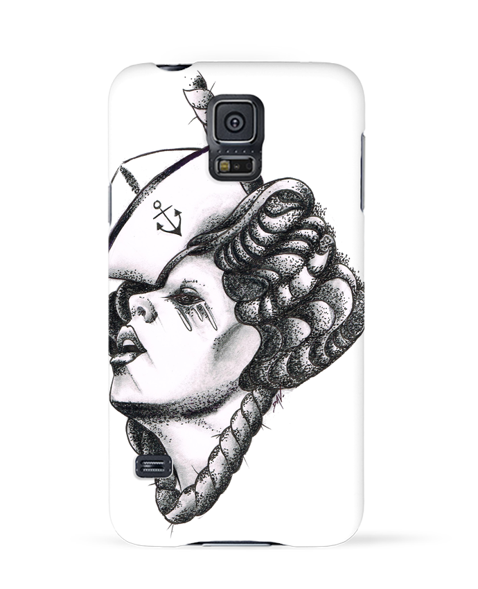 Coque 3D Samsung Galaxy S5 Femme capitaine par david