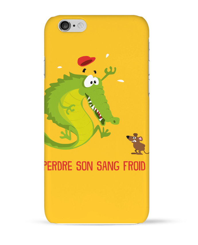 Coque 3D Iphone 6 Sang froid par Rickydule