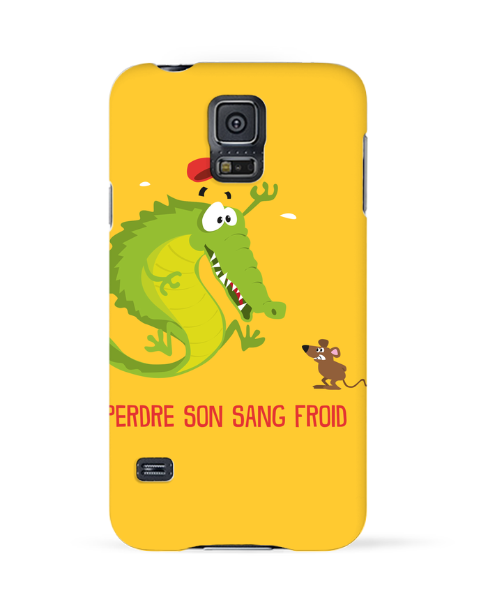 Coque 3D Samsung Galaxy S5 Sang froid par Rickydule