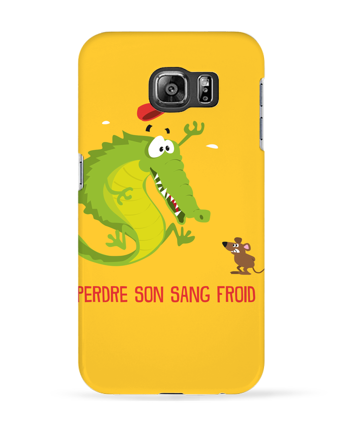 Coque 3D Samsung Galaxy S6 Sang froid - Rickydule