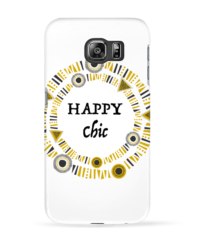 Coque 3D Samsung Galaxy S6 Happy Chic - LF Design