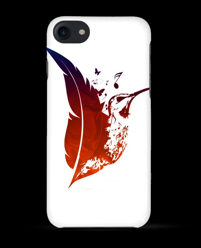 coque iphone 7 plume
