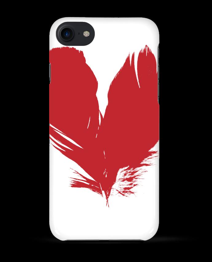 Coque 3D Iphone 7 coeur de plumes de Studiolupi