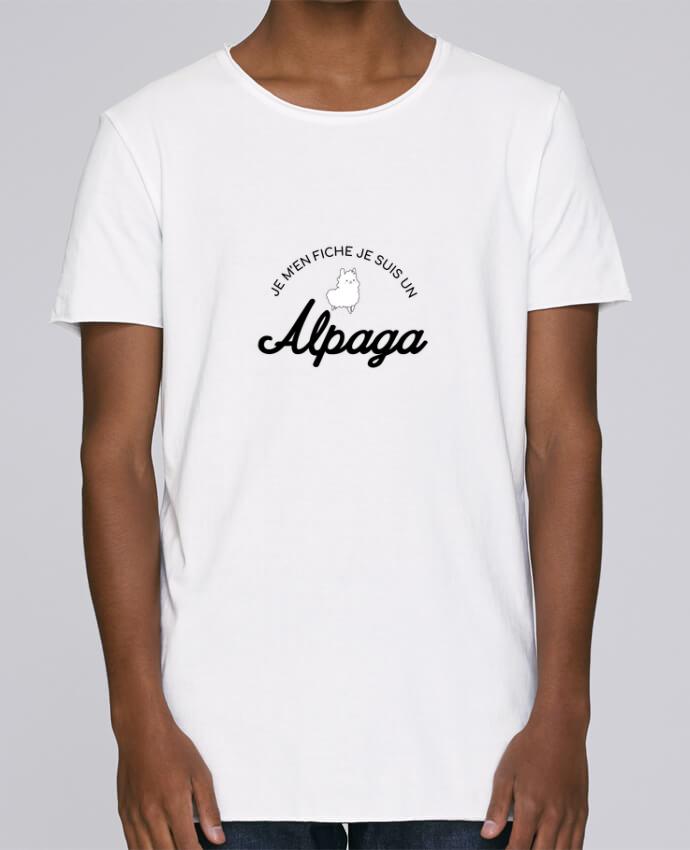 T-shirt Homme Oversized Stanley Skates Alpaga par Nana