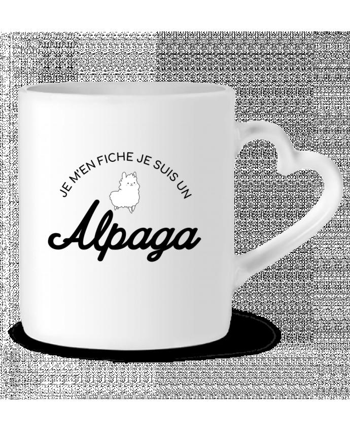 Mug Coeur Alpaga par Nana