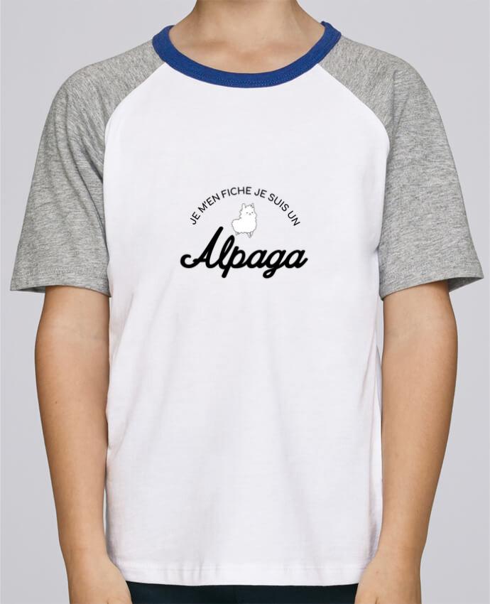 Tee-Shirt Enfant Stanley Mini Jump Short Sleeve Alpaga par Nana