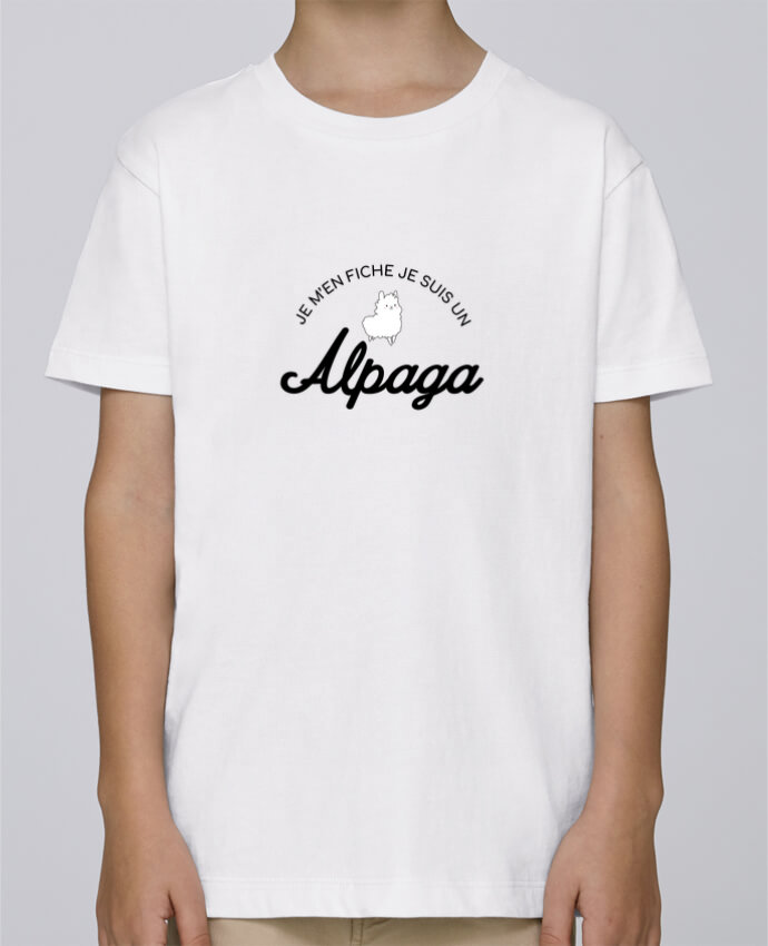 Tee Shirt Garçon Stanley Mini Paint Alpaga par Nana