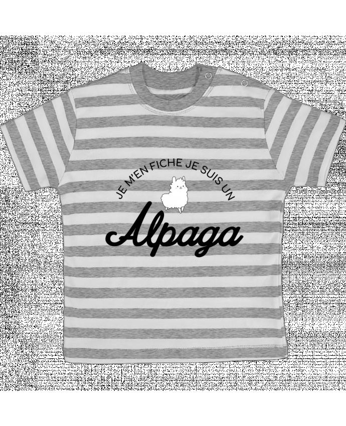 T-shirt Bébé à Rayures Alpaga par Nana