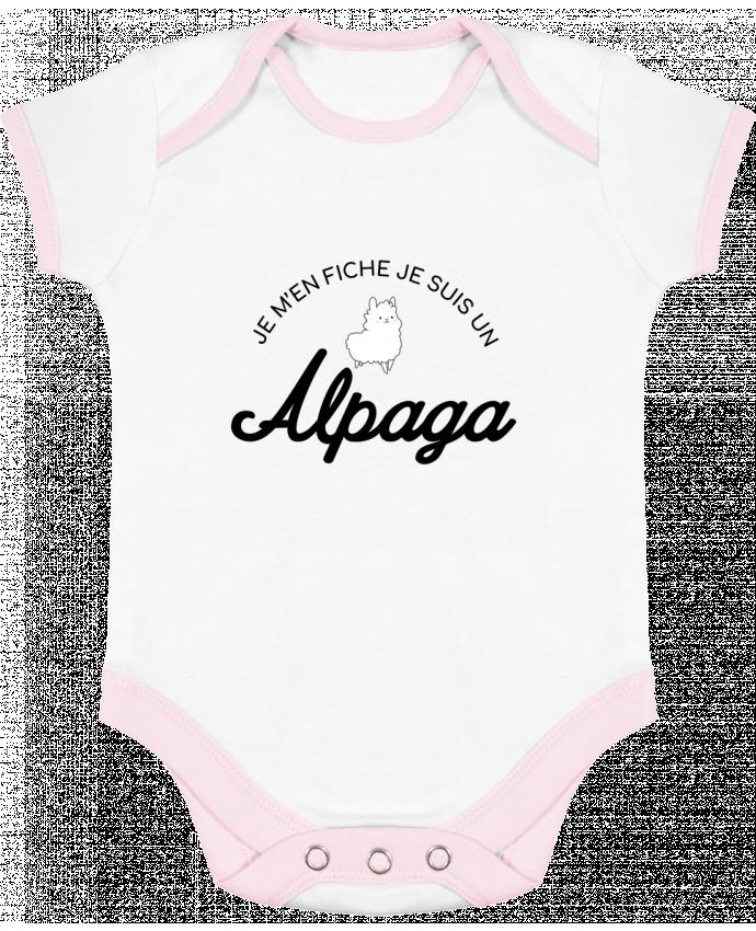 Body Bébé Contrasté Alpaga par Nana