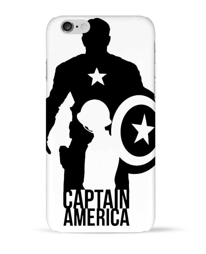 Coque 3D Iphone 6 Captain america par Kazeshini