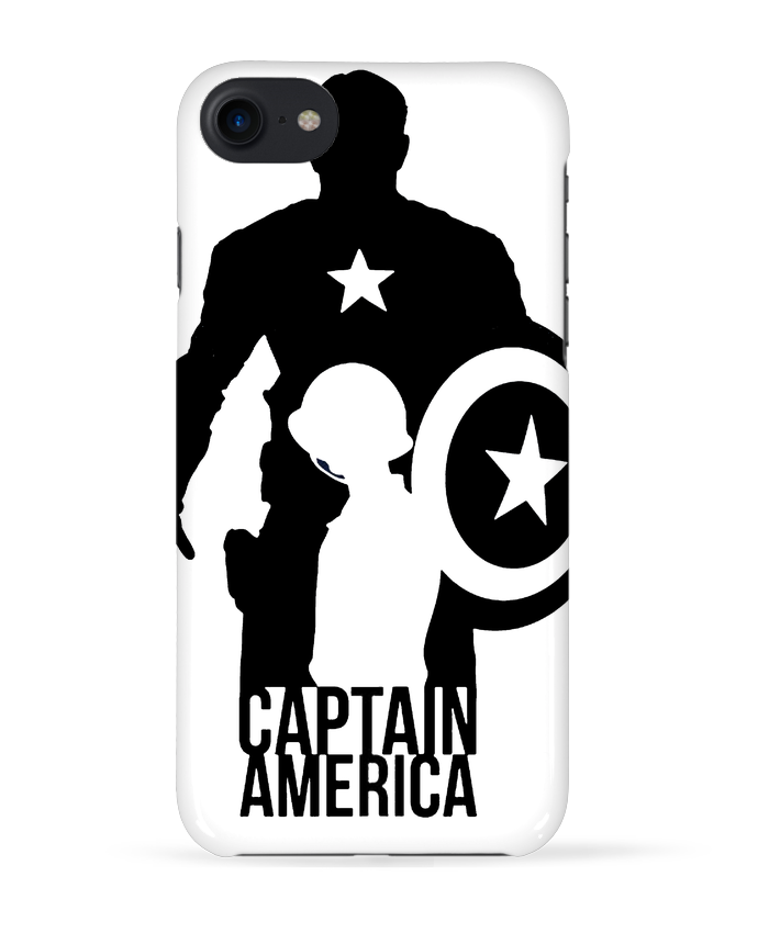 Coque 3D Iphone 7 Captain america de Kazeshini