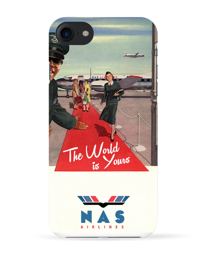 Coque 3D Iphone 7 Nas Airlines de Ads Libitum