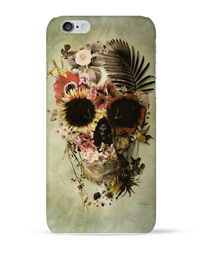 Coque 3D Iphone 6 Garden Skull par ali_gulec