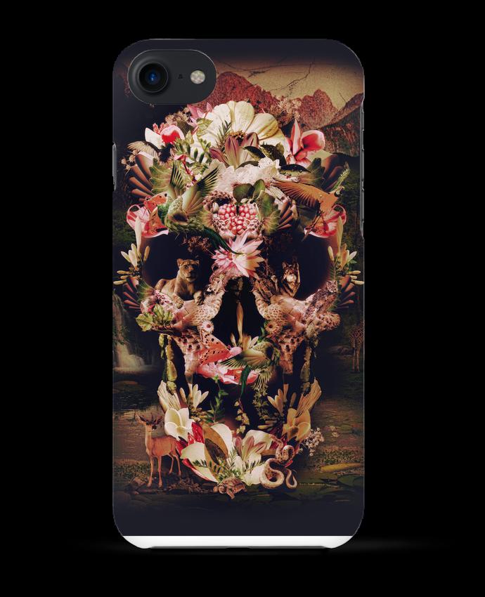 Coque 3D Iphone 7 Jungle Skull de ali_gulec